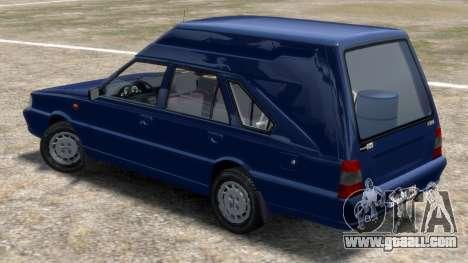 Daewoo-FSO Polonez Cargo Van Plus 1999 for GTA 4 back left view