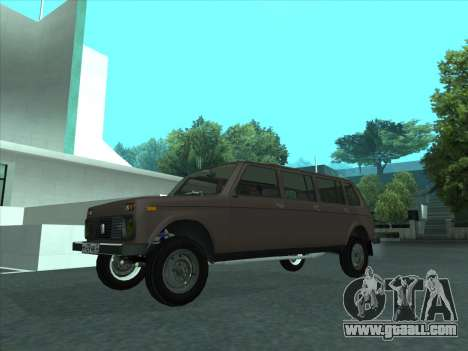 VAZ 2131 Samudera for GTA San Andreas inner view