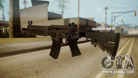 SIG-556 Patrol Rifle White for GTA San Andreas third screenshot