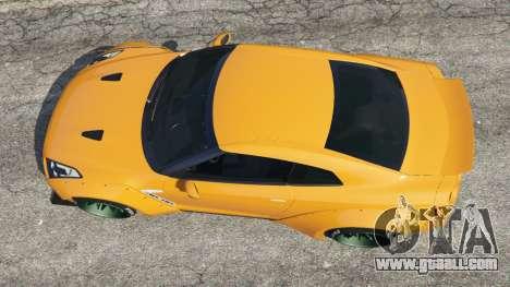 GTA 5 Nissan GT-R (R35) [LibertyWalk] back view
