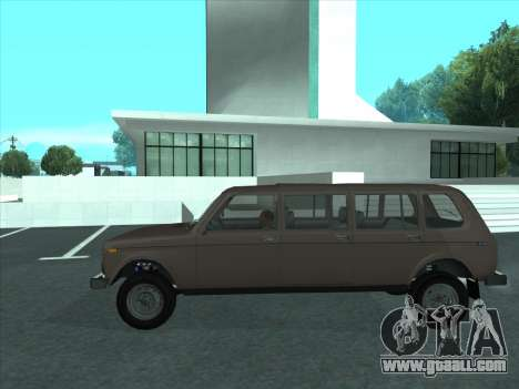 VAZ 2131 Samudera for GTA San Andreas left view