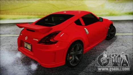 Nissan 370Z Nismo 2010 Angel Beats Itasha for GTA San Andreas left view