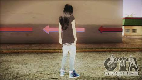 Home Girl SWAG for GTA San Andreas third screenshot