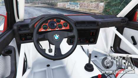GTA 5 BMW M3 (E30) 1991 [Suei] v1.2 right side view