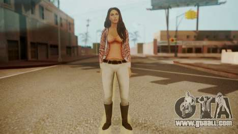 Megan Fox for GTA San Andreas second screenshot