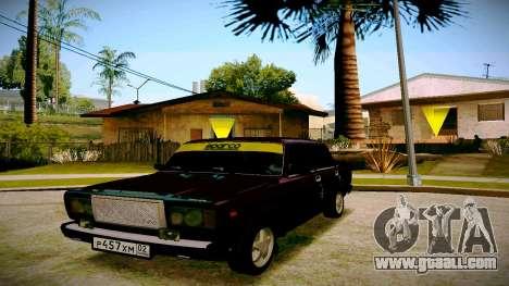 ВАЗ 2107 Light Tuning for GTA San Andreas
