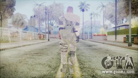 MGSV Phantom Pain Snake Scarf Woodland for GTA San Andreas third screenshot