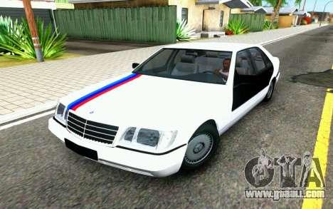 Mercedes-Benz W140 for GTA San Andreas