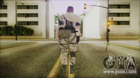 MGSV Phantom Pain Snake Scarf Animals for GTA San Andreas third screenshot