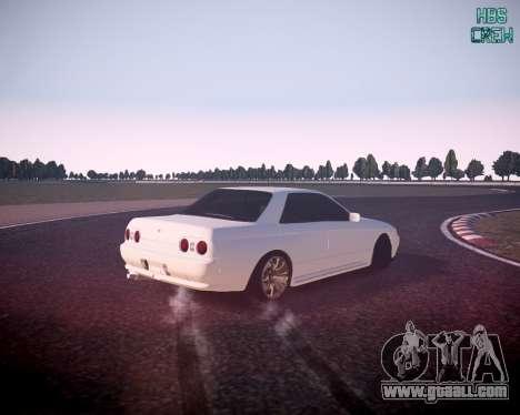 Nissan Skyline ER32 for GTA 4 left view