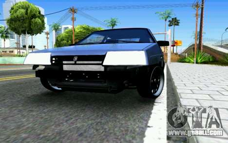 VAZ 2108 V1 for GTA San Andreas inner view