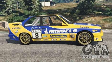BMW M3 (E30) 1991 [Mingelo] v1.2 for GTA 5