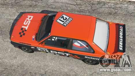 GTA 5 BMW M3 (E30) 1991 [RST] v1.2 back view
