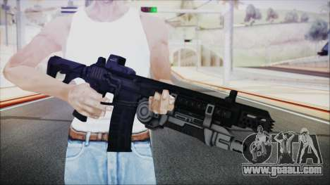 SOWSAR-17 Type G Assault Rifle with Grenade for GTA San Andreas third screenshot