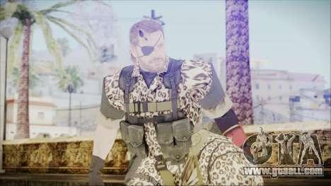 MGSV Phantom Pain Snake Normal Wetwork for GTA San Andreas