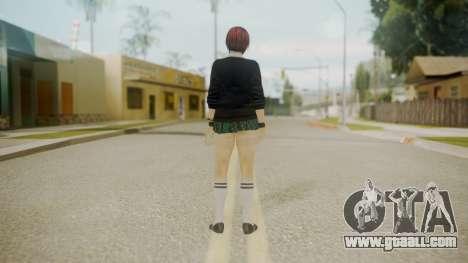 DoA School Grl for GTA San Andreas third screenshot