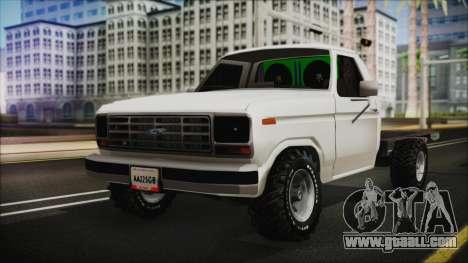Ford F-150 Con Sonido for GTA San Andreas