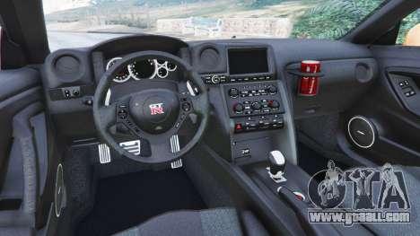 Nissan GT-R (R35) [LibertyWalk] for GTA 5