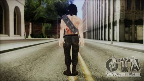 Rambo Skin for GTA San Andreas third screenshot