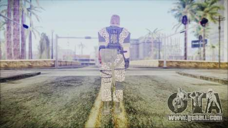 MGSV Phantom Pain Snake Normal Wetwork for GTA San Andreas third screenshot