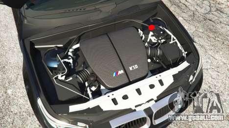 GTA 5 BMW M5 (E60) v1.1 rear right side view