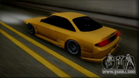 Nissan Silvia s14 by TheFlem for GTA San Andreas left view
