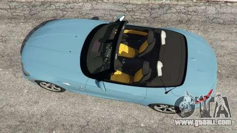GTA 5 BMW Z4 sDrive28i 2012 back view