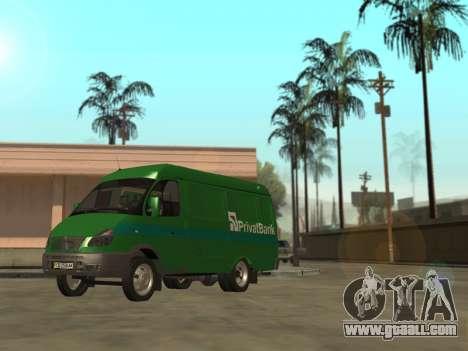 GAZelle 2705 Privat v2 for GTA San Andreas left view
