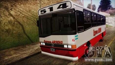 Mercedes-Benz OHL 1320 Linea 514 Expreso Arseno for GTA San Andreas