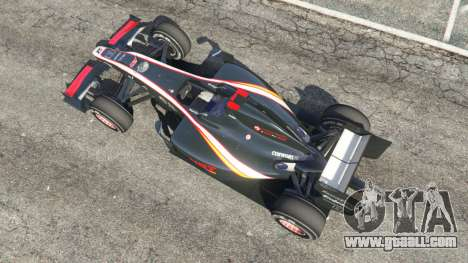 GTA 5 Hispania F110 (HRT F110) v1.1 back view
