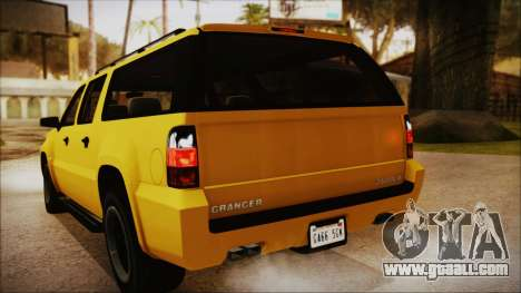 GTA 5 Declasse Granger IVF for GTA San Andreas side view