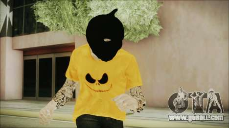 DLC Halloween GTA 5 Skin 3 for GTA San Andreas