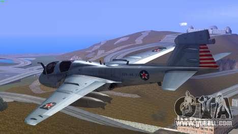 Northrop Grumman EA-6B Prowler VAQ-129 for GTA San Andreas left view