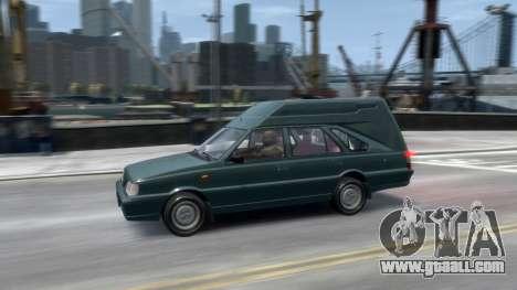 Daewoo-FSO Polonez Cargo Van Plus 1999 for GTA 4 bottom view