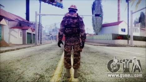 Chinese Army Desert Camo 2 for GTA San Andreas third screenshot