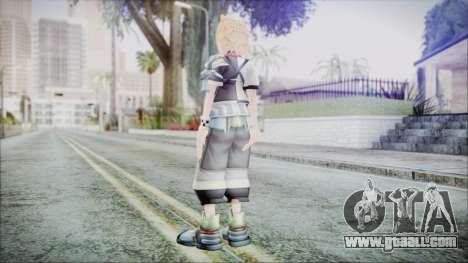 Kingdom Hearts Birth By Sleep - Ventus for GTA San Andreas third screenshot