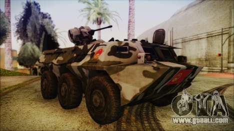 Norinco Type 92 from Mercenaries 2 for GTA San Andreas right view