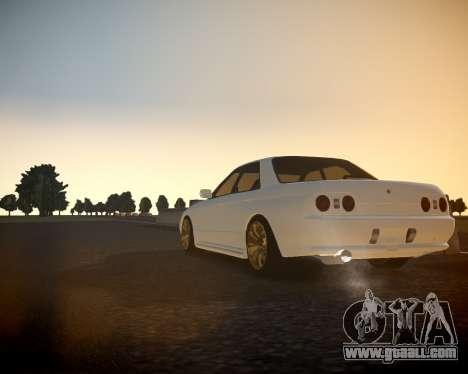 Nissan Skyline ER32 for GTA 4 back left view