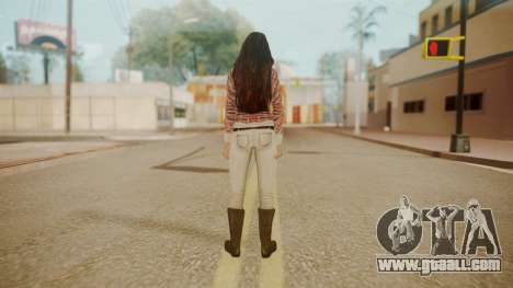 Megan Fox for GTA San Andreas third screenshot