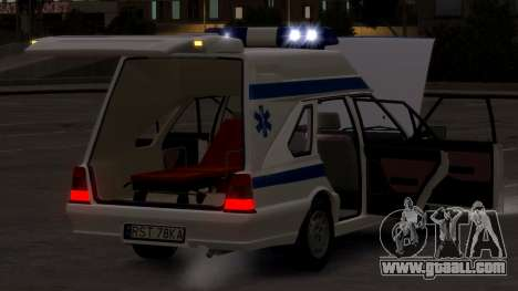 Daewoo-FSO Polonez Cargo Ambulance 1999 for GTA 4 side view