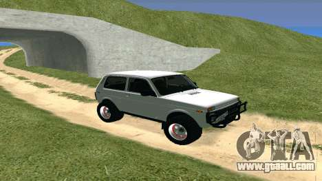 Lada Urban OFF ROAD for GTA San Andreas left view