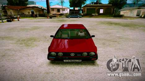Volkswagen Golf Mk2 for GTA San Andreas back view