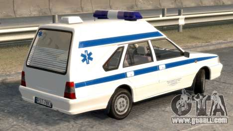 Daewoo-FSO Polonez Cargo Ambulance 1999 for GTA 4 back left view
