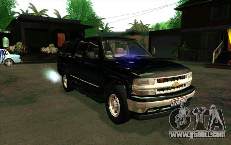 Chevrolet Suburban FSB for GTA San Andreas back left view