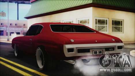Chevrolet Chevelle Drag Car for GTA San Andreas left view