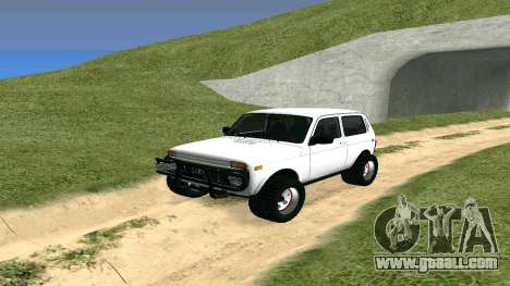 Lada Urban OFF ROAD for GTA San Andreas
