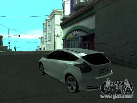 Ford Focus ST baleen for GTA San Andreas back left view