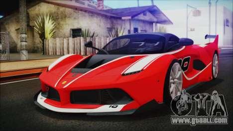 Ferrari FXX K 2016 v1.1 [HQ] for GTA San Andreas
