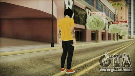 DLC Halloween GTA 5 Skin 3 for GTA San Andreas third screenshot