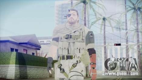 MGSV Phantom Pain Snake Scarf Desert for GTA San Andreas